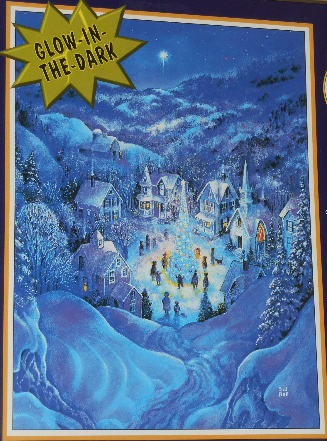 The Road To Christmas 2020 Road+To+Christmas+1000+Piece+Jigsaw+Puzzle+Glow in the Dark+11