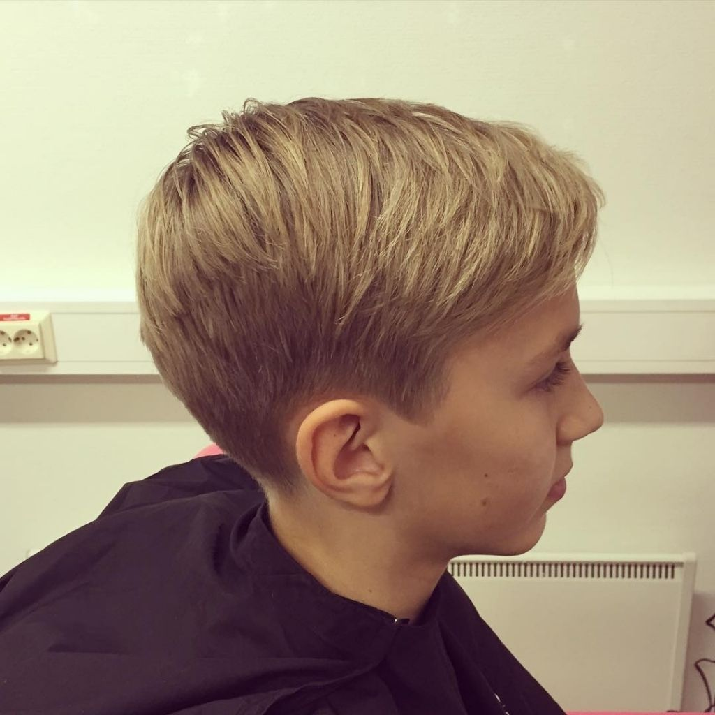 Cool Hairstyles For  Year Olds  Ideas About Boy Haircuts On