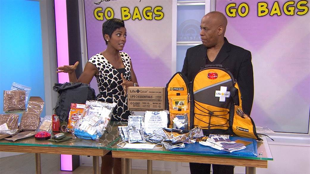If An Emergency Drove You Out Of Her Home For Several Days Would Be Prepared Tamron Hall Keeps A Go Bag Packed With Cash Food And Important