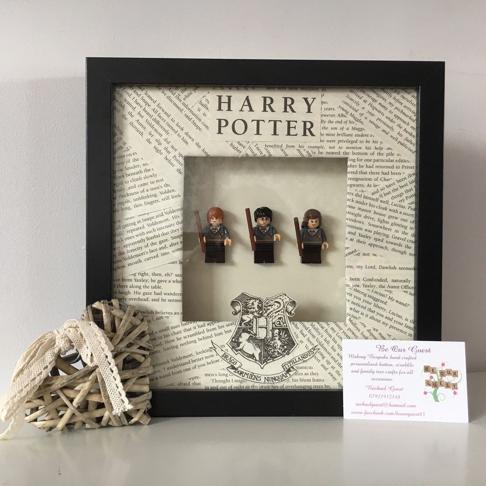 Personalised Harry Potter box frame - a perfect gift! All frames are ...