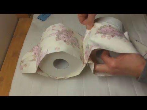Tutorial: Porta rotoli di carta igienica - YouTube