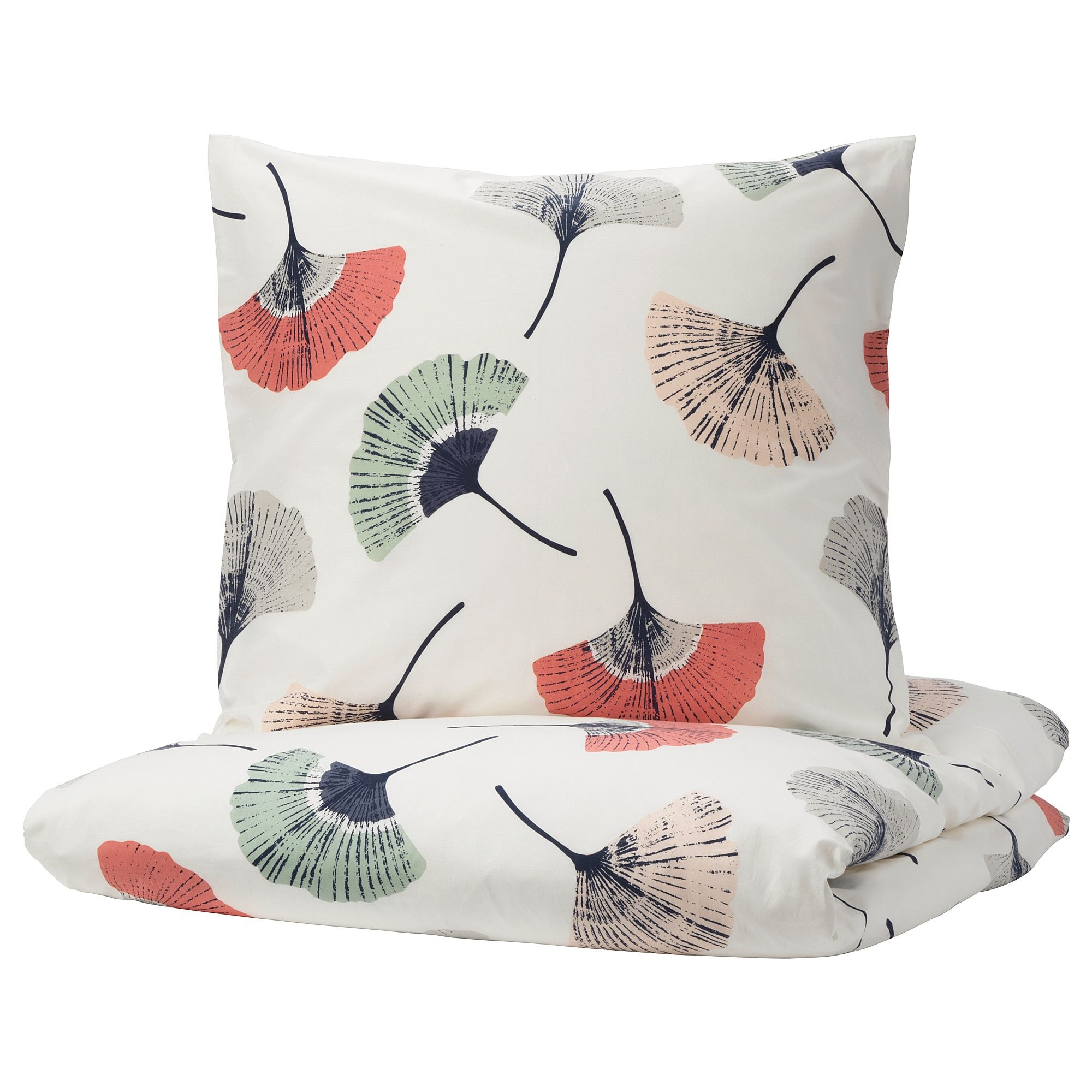 Ikea Tovsippa Housse De Couette Et 2 Taies Blanc A Motif Floral 100 Coton Un Materiau Doux Et Durable Qui S Ado Housse De Couette Couette Parure De Lit