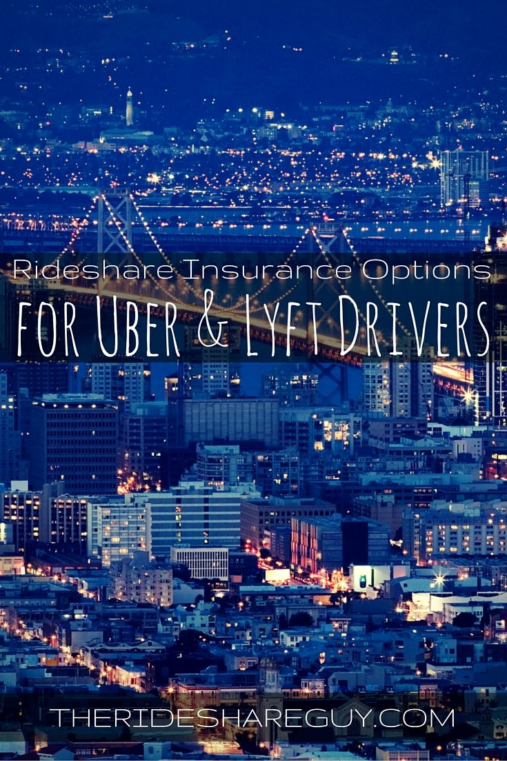 Find out what companies will insure rideshare drivers with