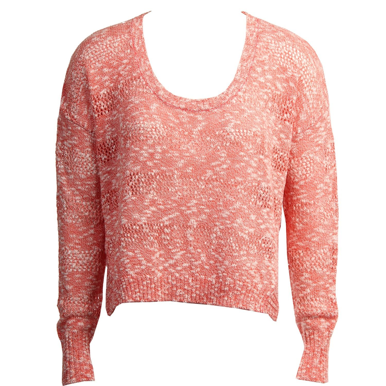 Roxy Womens Sweater Rochester Pink Coral | New Womens Product ...