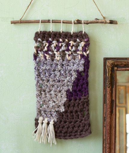Free Crochet Hanging Heart Pattern : Renaissance Crochet Wall Hanging Free Crochet Pattern in ...