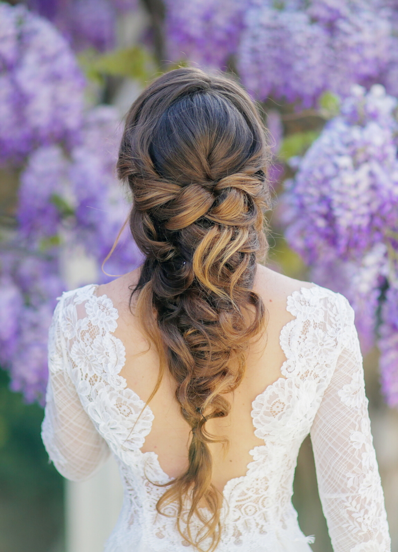 8 stilvolle Ideen für eine Brautfrisur mit Zopf - Hochzeitskiste