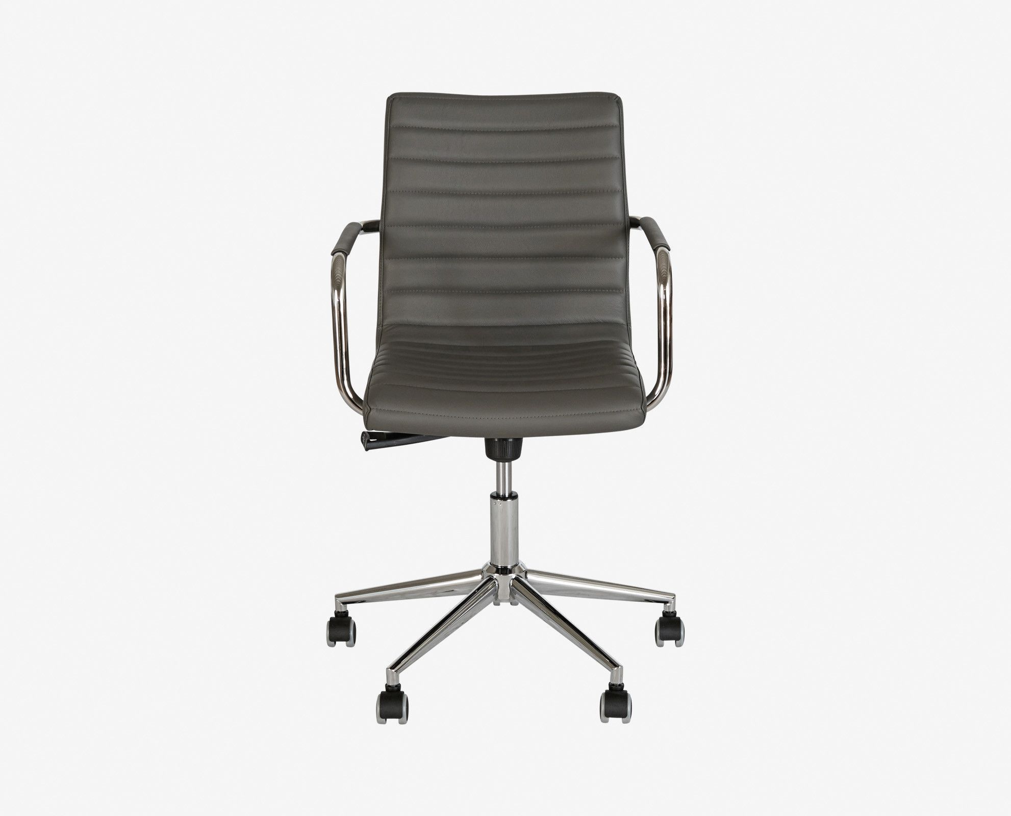 Kontor low back leather chair leather chair chair