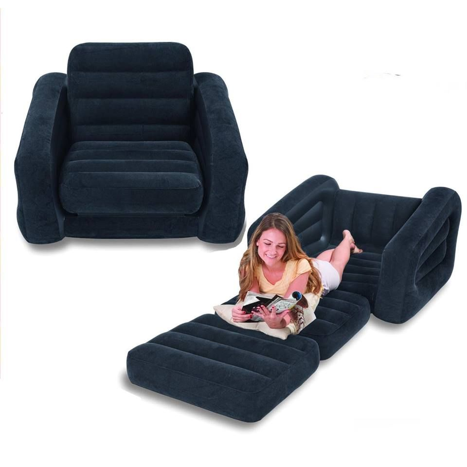 Inflatable Pull Out Sofa Whether Watching A Movie Reading A Book