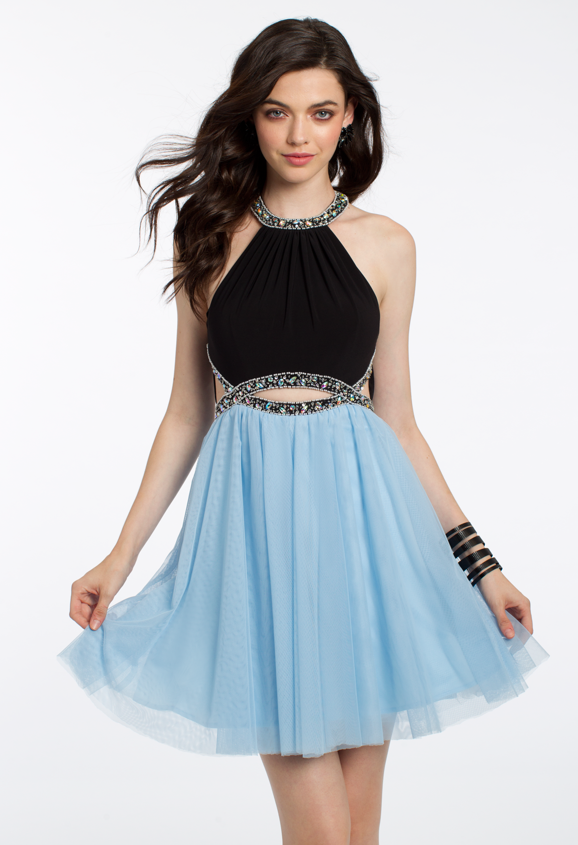 Get ready to twirl in this pretty party dress! The beaded Jersey ...