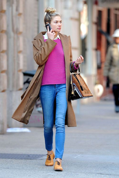Jessica Hart is the perfect amount of preppy