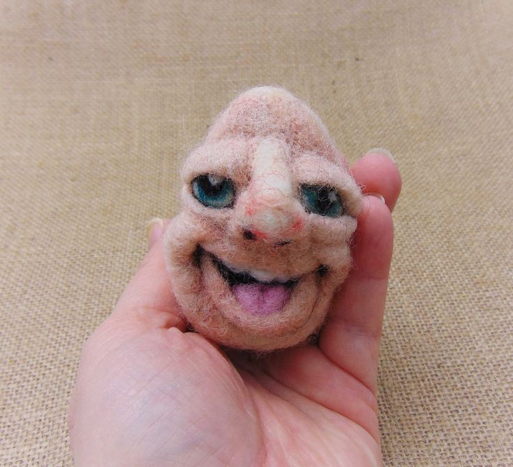 Needle Felted Egg Fibre Art Egg Happy Egg Decoration Egg With a Face Alternative Easter G Needle Felted Egg Fibre Art Egg Happy Egg Decoration Egg With a Face Alternative...