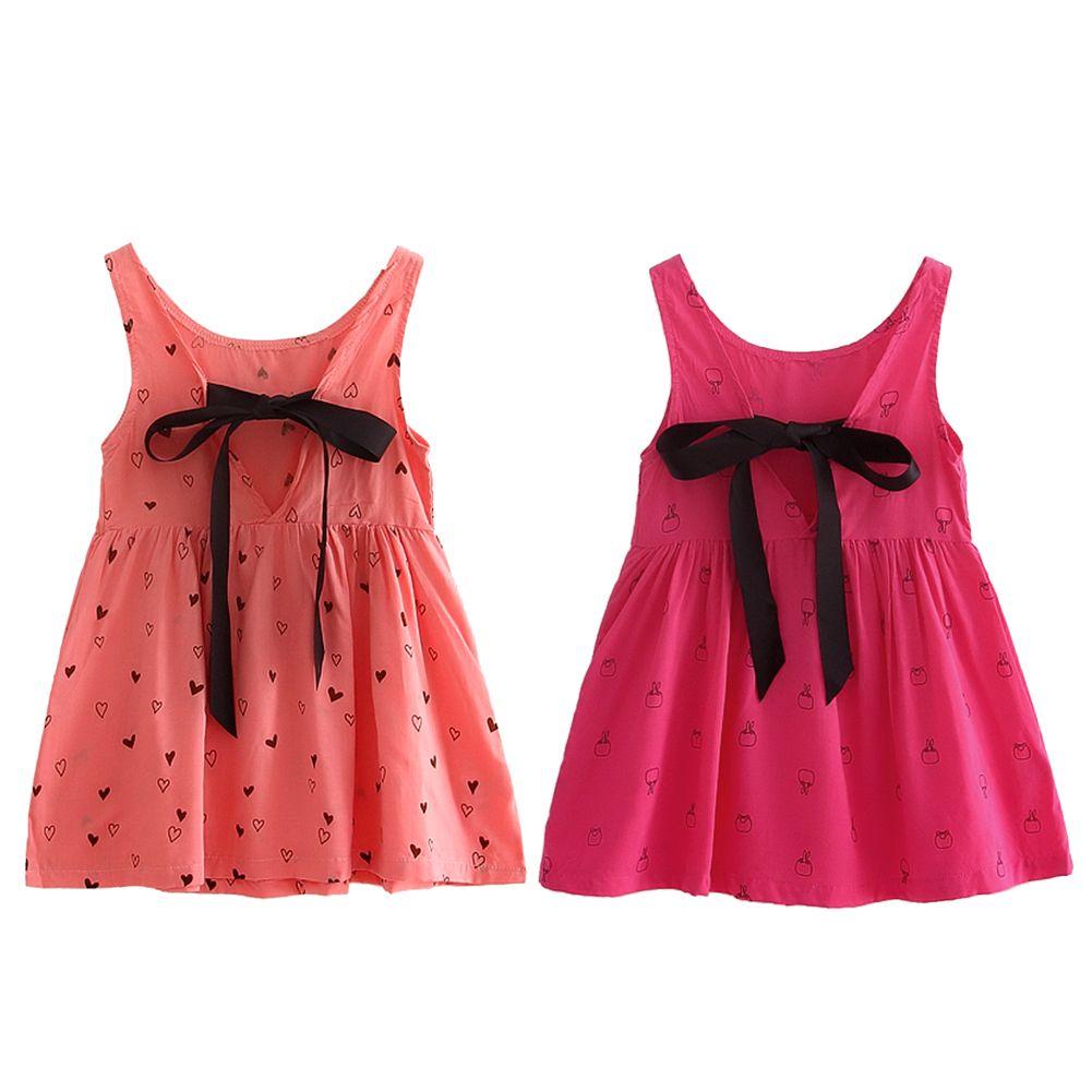 Kids Girls Sleeveless Cotton Dress Children S Clothing Spring Summer Heart Pattern Printed Princess Dress 3 Girl Outfits Kids Summer Dresses Dresses Kids Girl [ 1001 x 1001 Pixel ]