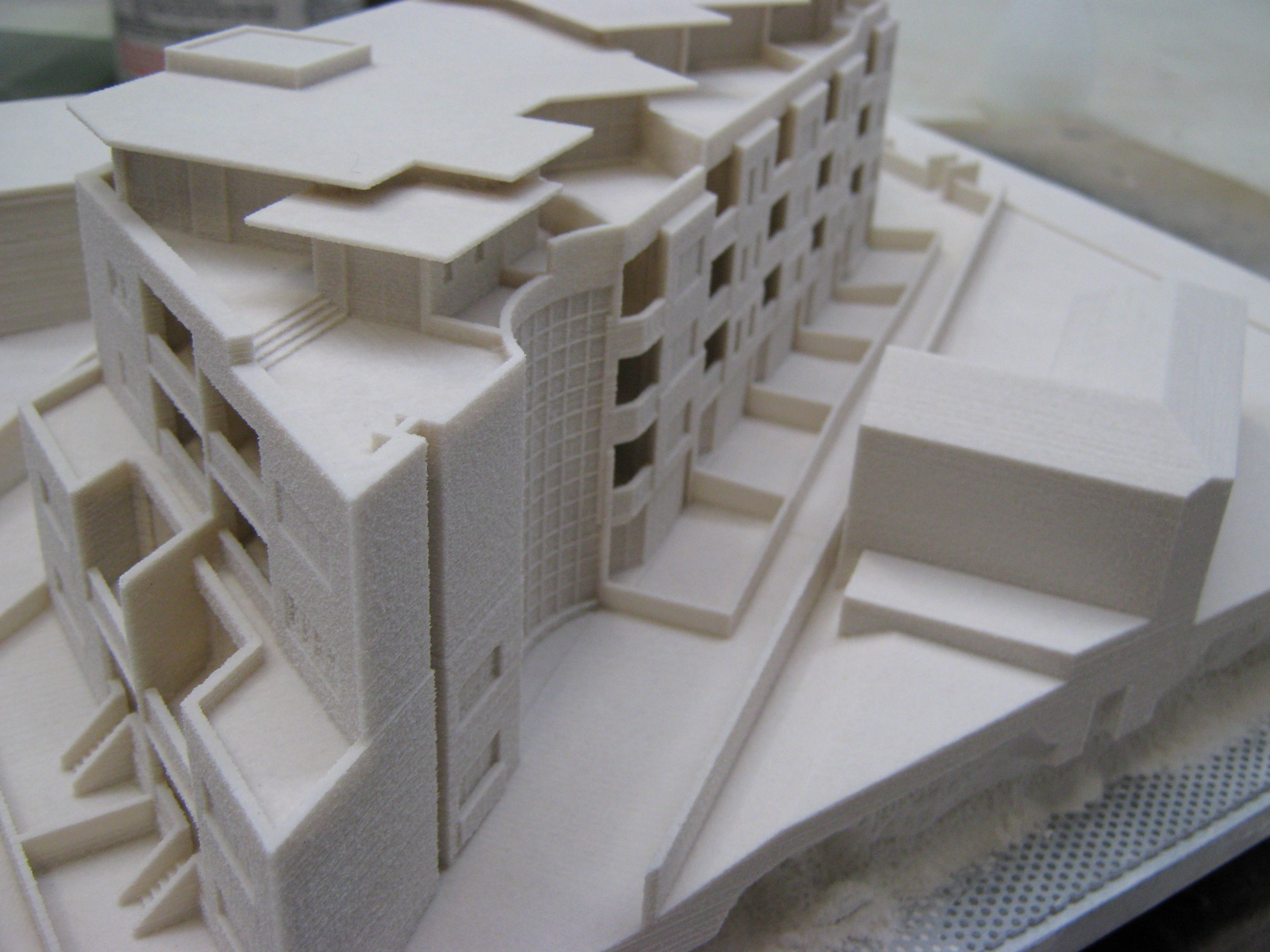 made with 3d printer 3dprintedarchitecture 3d printed
