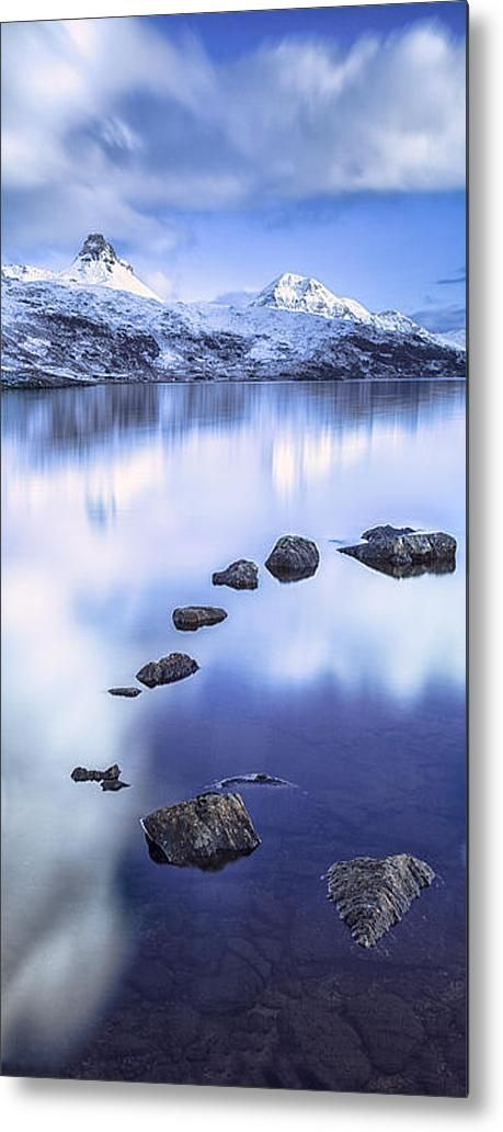 Stac Pollaidgh In Scotland Metal Print By Lynne  Douglas #white #blue #framed #swedish #nordic #style #print #crionna  Metal, canvas or framed prints available now on Fine Art America starting at around $20