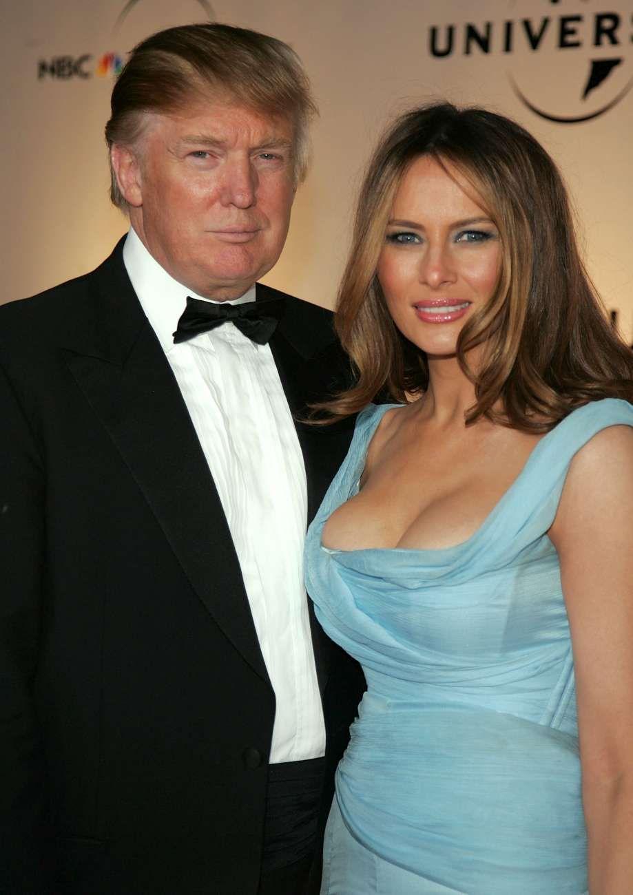 Melania Trump prva dama nuda - Naked Trump je v letu 2019-2087