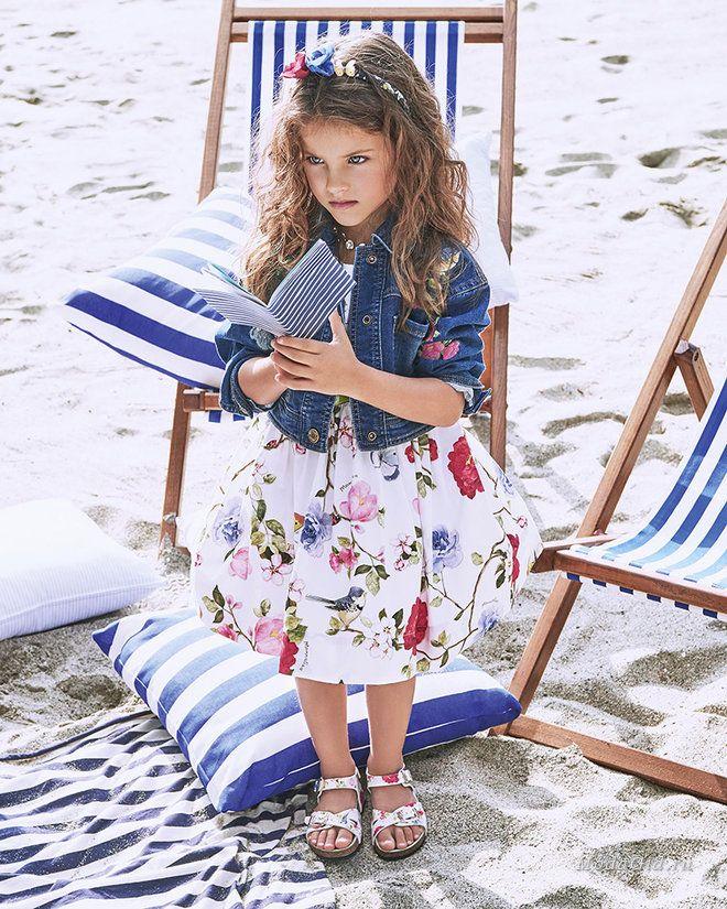 eca2601279f Детская мода от Monnalisa - это всегда удачное сочетание романтичного  стиля