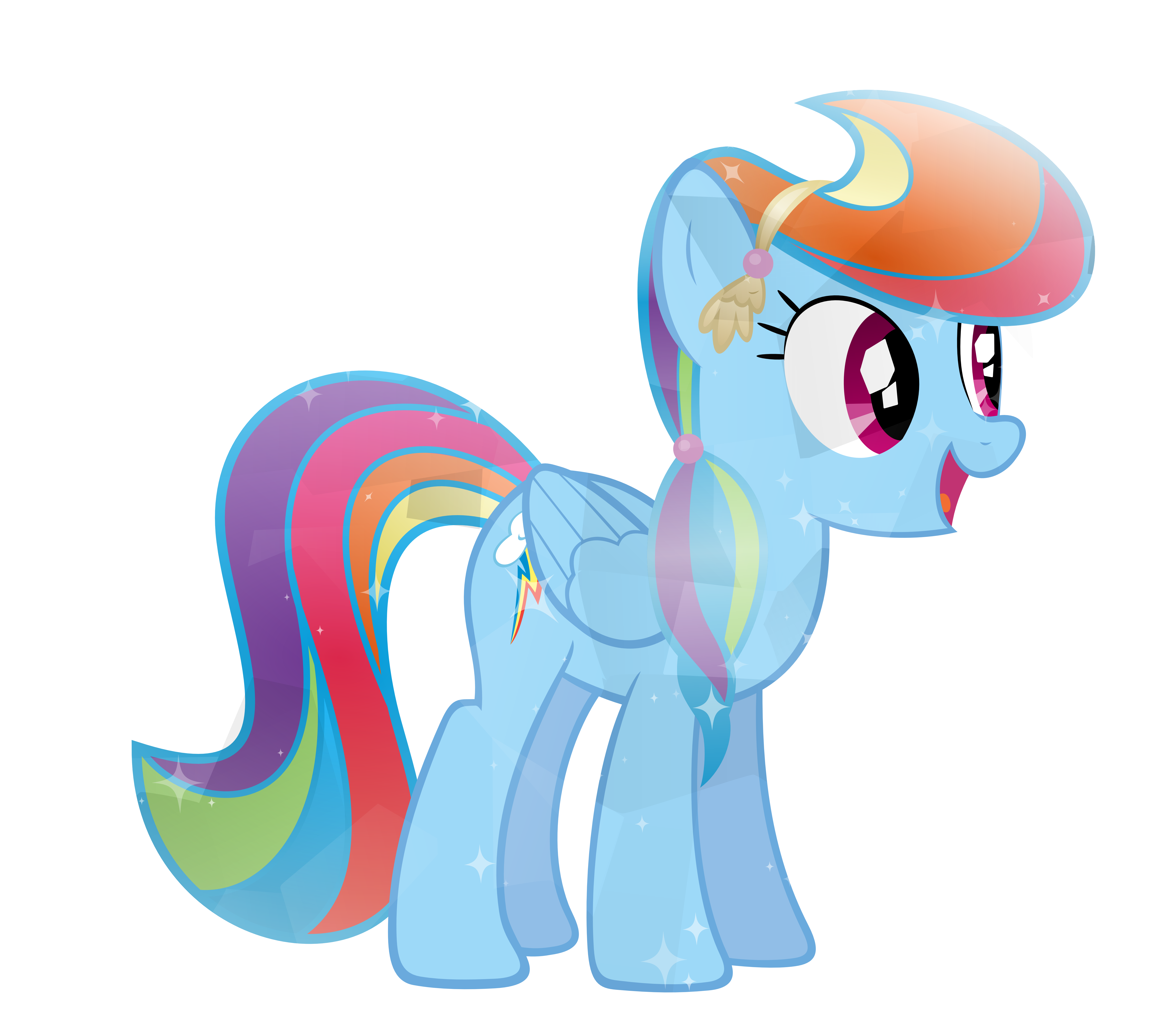 Crystal Dashie Derpy My Little Pony Drawing Rainbow Dash