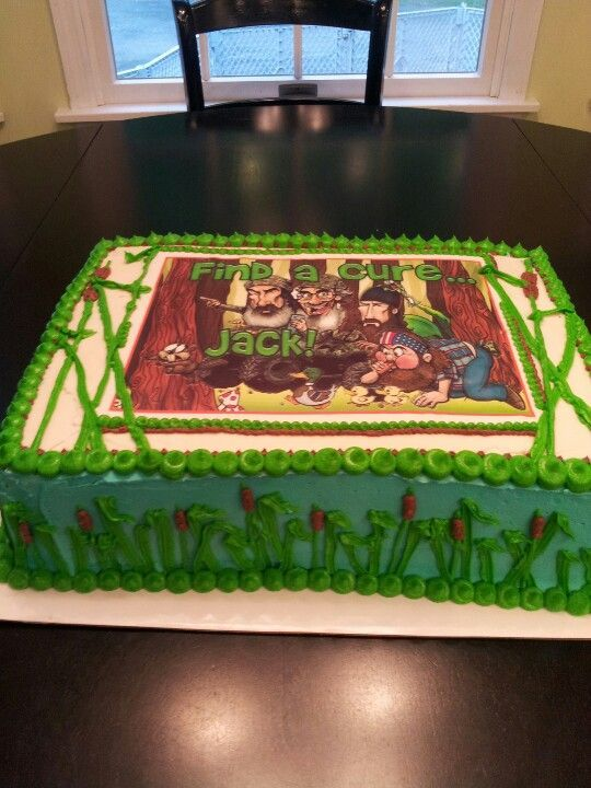 duck dynasty birthday cakes Relay For Life Duck Dynasty cake