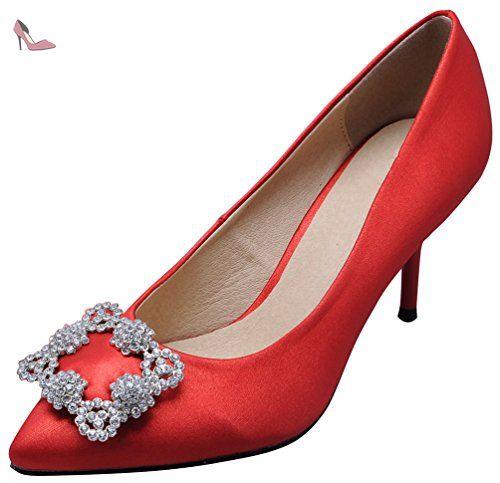 CFP Sbréalle de Bal Femme - Rouge - Rouge 1W92wusD,