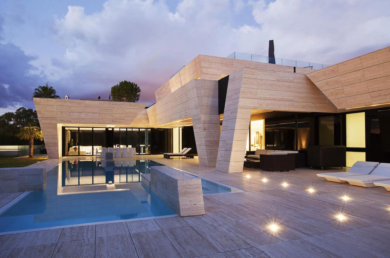 Modern S.V. House Located In Seville Spain By A Cero   CAANdesign |  Architecture And