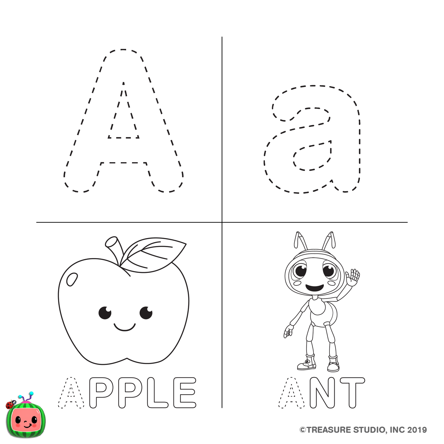Abc Coloring Pages Cocomelon Com In 2020 Abc Coloring Abc Coloring Pages Alphabet Coloring Pages