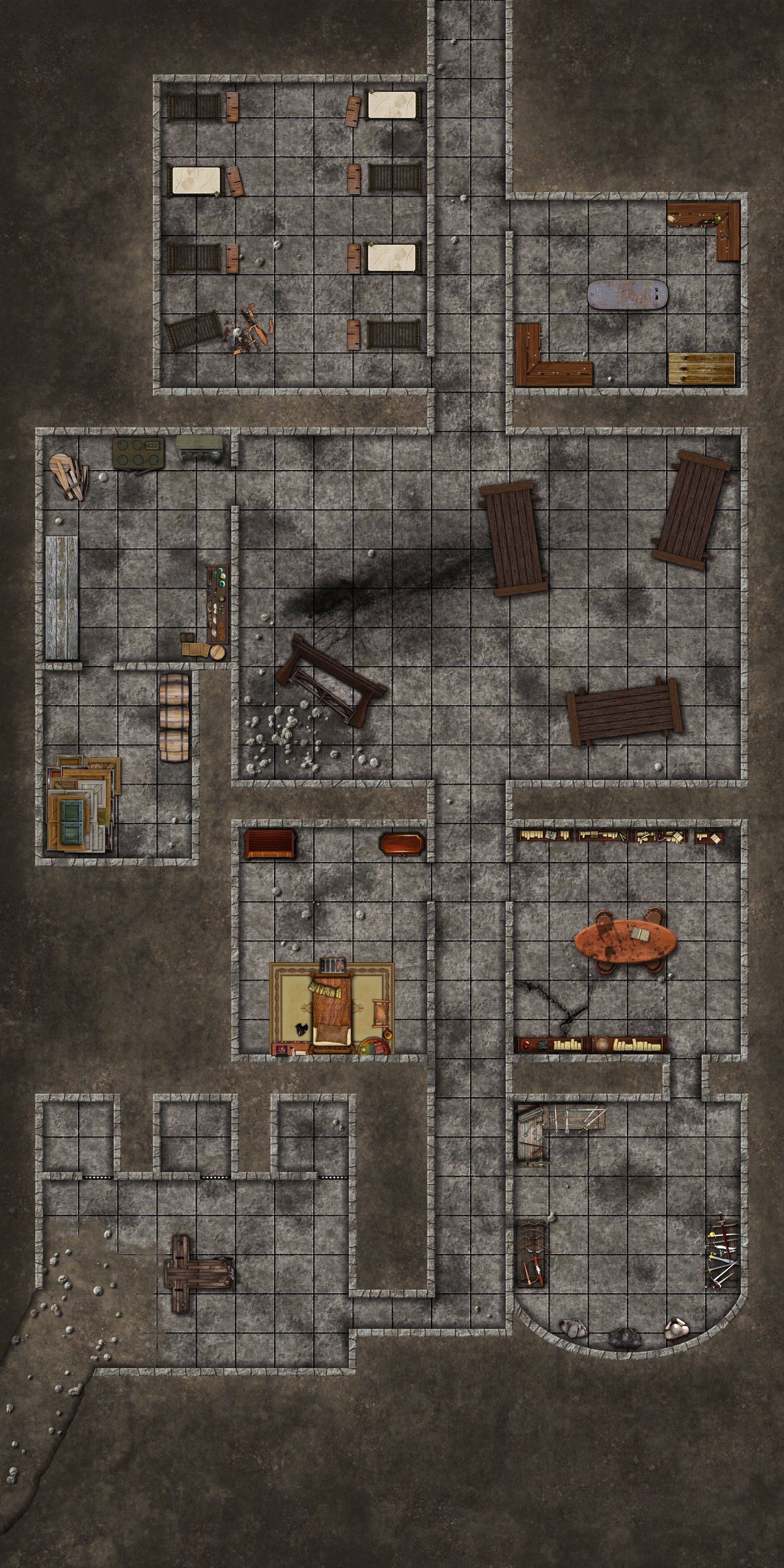 pin by david vaughn on dungeons and dragons maps in 2018