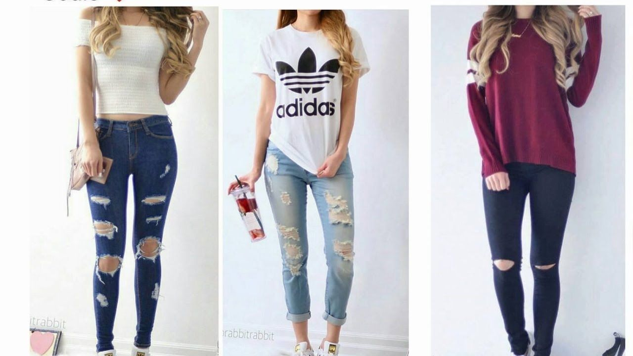 7f4e80669d82 Ropa De Moda Juvenil 2016 pantalones,tops,remeras y sueters ...