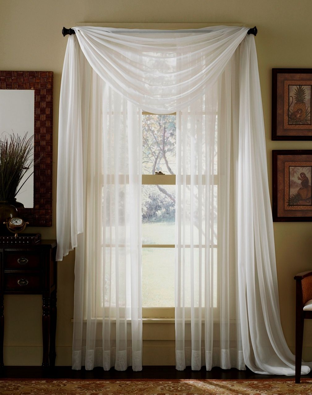 20 Anno Luv Panel Curtain Ikea With Images: White Paneling, White Sheer