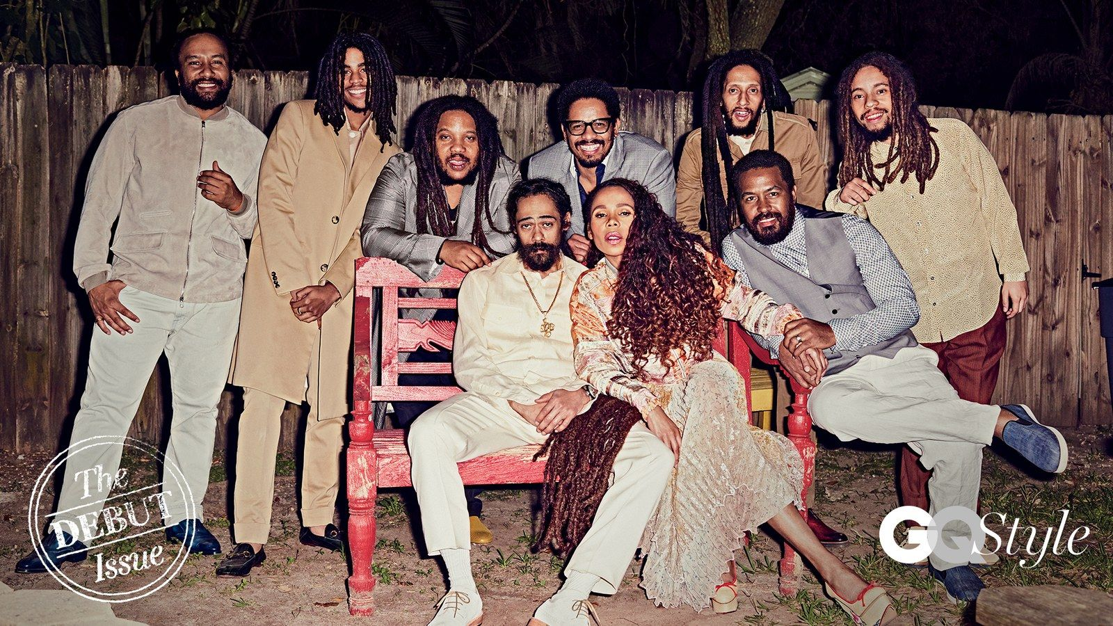 Exclusive Bob Marley S Family Reunites For Its First Photo Shoot In Over A Decade Marley Family Bob Marley Kids Bob Marley Pictures