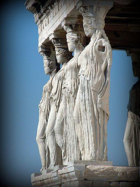 Cariatides Classical Antiquity Random Photos Art And Architecture
