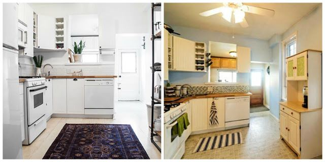 Deco antes y despu s de una cocina y un comedor el - Cocinas antes y despues ...
