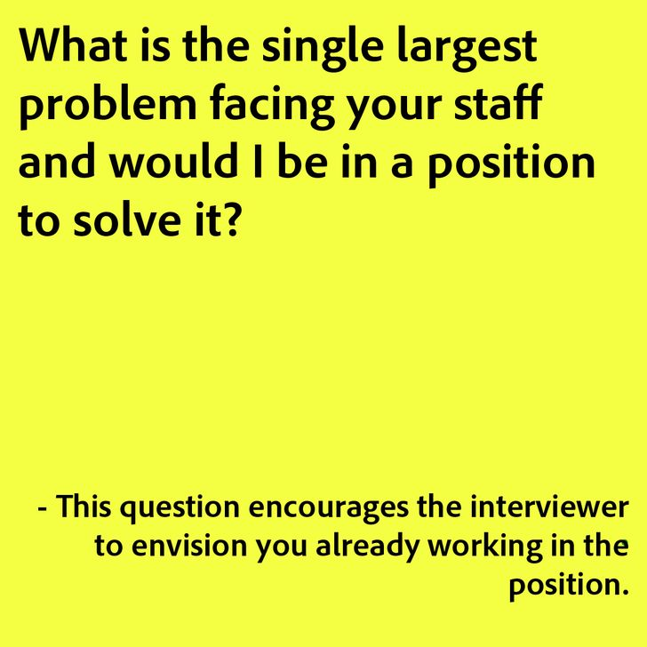 Tips on asking the right questions in interviews. - Imgur