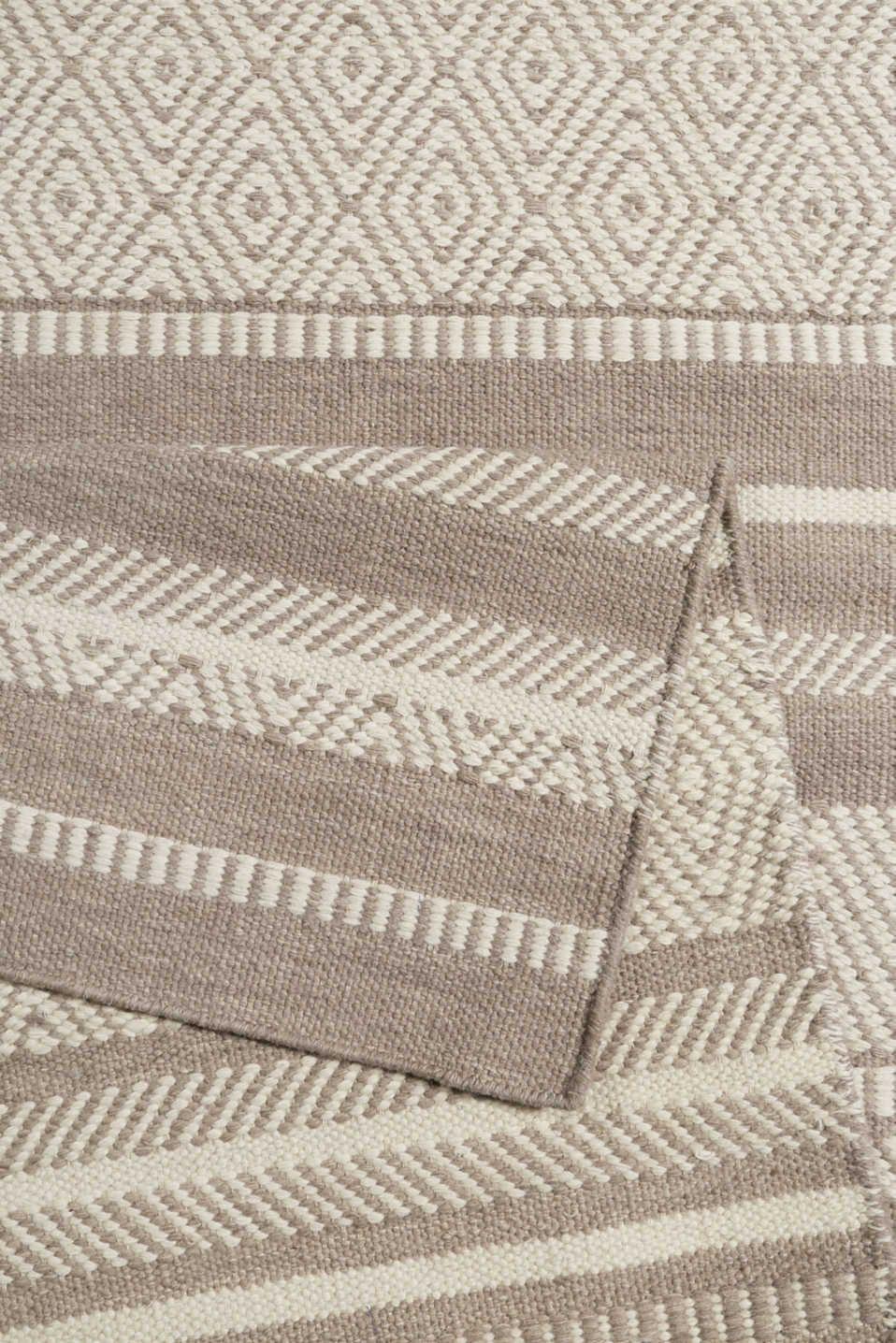 Handweb Teppich Aus 100 Schurwolle Gewobener Teppich Teppich Handwebteppiche