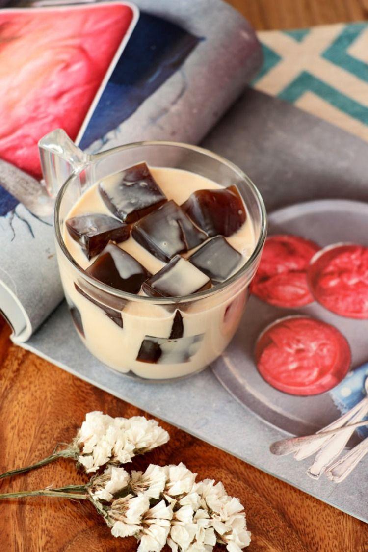 Easy Coffee Jelly Recipe Coffee jelly, Jelly recipes