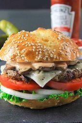 Homemade Beef Patty Recipe - Burger Patty - # - Burger ♥ ... -  Homemade Beef Patties Recipe – Burger Patty – # – Burger ♥ – #  - #Beef #besthomemadeburgers #burger #burgersideas #burgersrecipes #easyhomemadeburgers #healthyburgersrecipes #homemade #homemadeburgers #homemadeburgersbeef #homemadeburgerspatties #homemadeburgersrecipe #patty #recipe