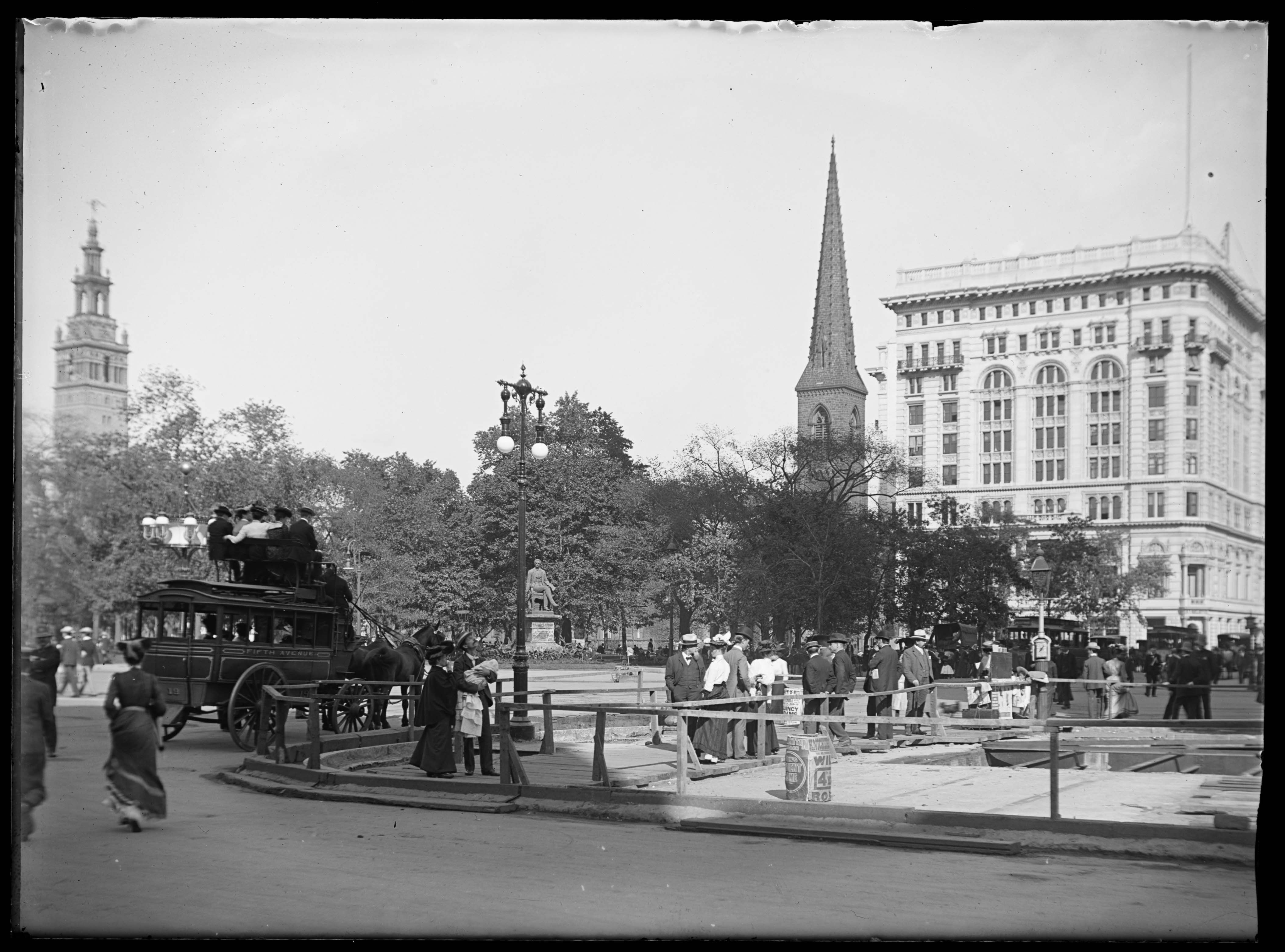1902 Madison Square NY (With images) American life