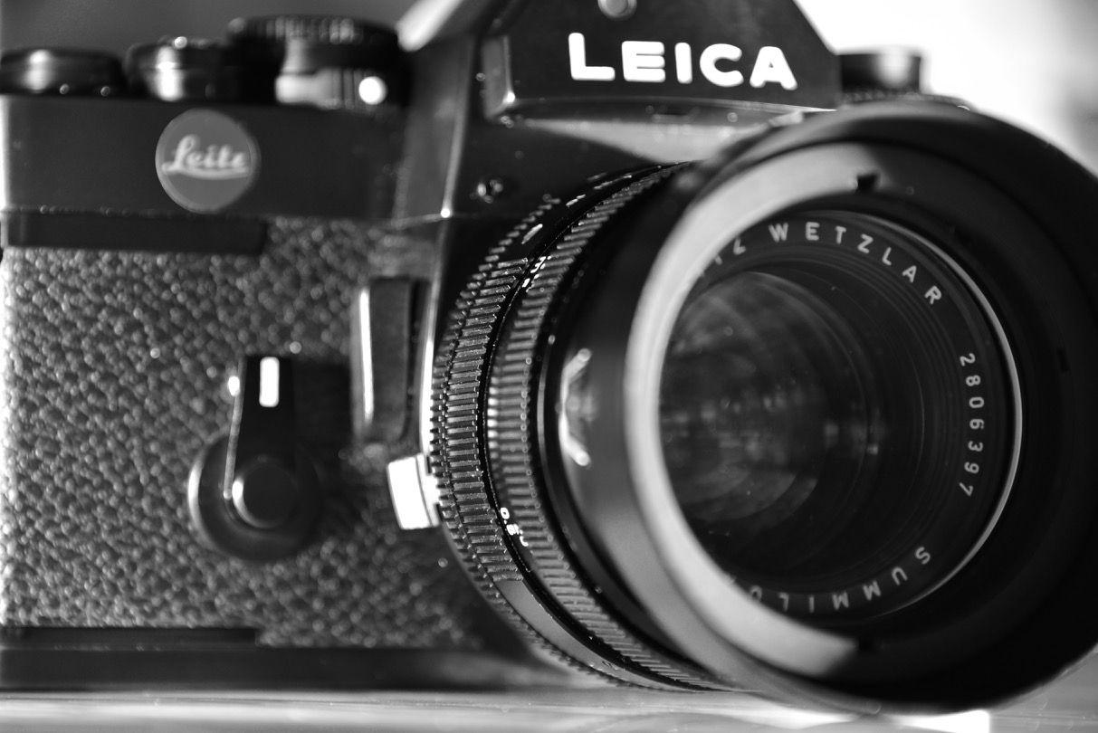 Leica R3 Mit Summilux F 1 4 50mm Analoge Filmfotografie Pur