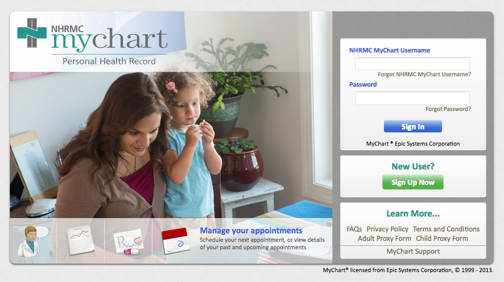 Nhrmc mychart login page rings for david pinterest