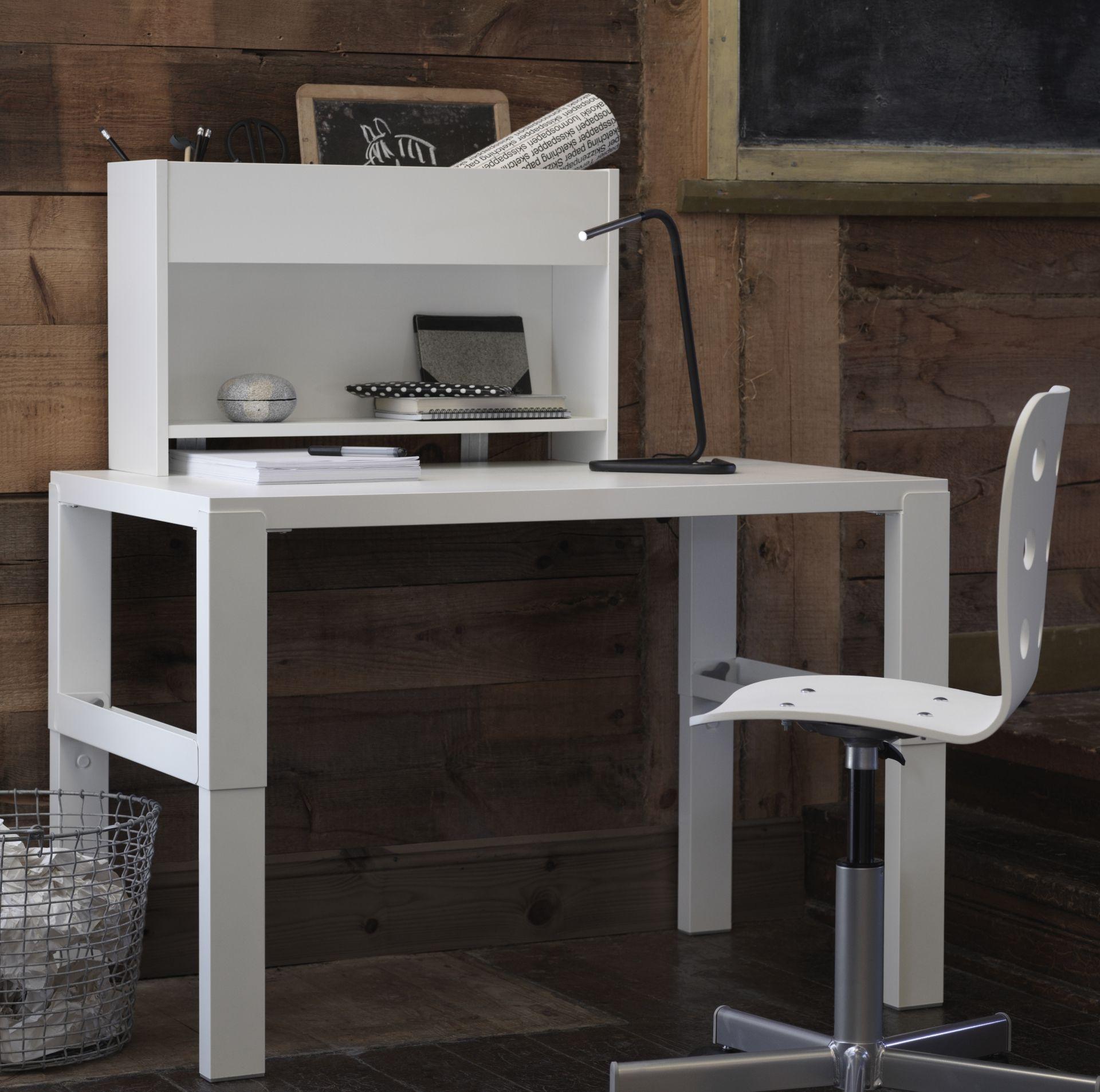 PÅHL bureau met opbouwdeel   #nieuw #IKEA #IKEAnl #inspiratie #kinderkamer…