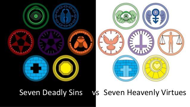 the seven heavenly virtues pesquisa google