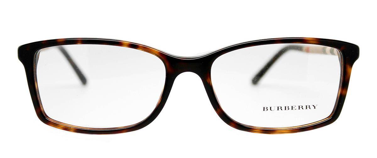Burberry BE2120 eyeglasses in dark havana at discount prices. Simple ...