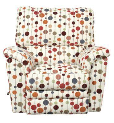 Homemakers Furniture: Contemporary Rocker Recliner: La-Z-Boy: Living Room: Recliners