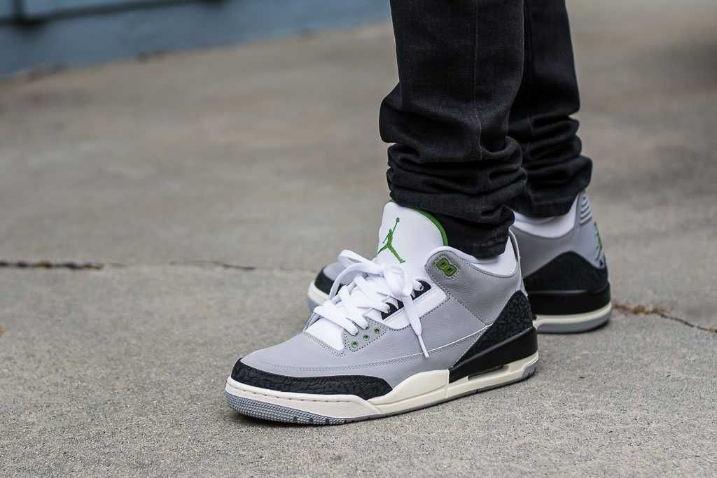 6b777fe0 Air Jordan 3 Chlorophyll On Feet Sneaker Review | Sneakers | Air ...