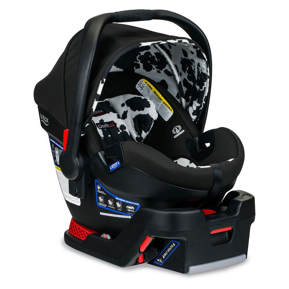 Britax BSafe Ultra Infant Car Seat Cowmooflage (With