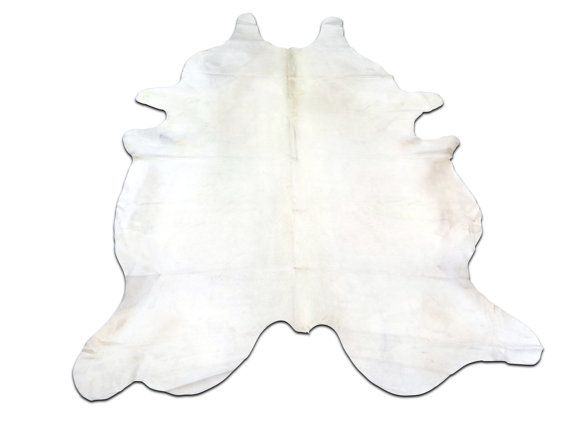 E 288 Pure White Cowhide Rug Size 8 X 7 Xl By Cowhidesusa White Cowhide Rug Cow Hide Rug Pure Products