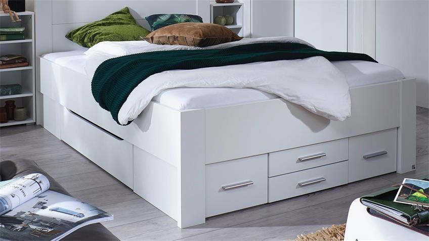 Bett Isotta Bettanlage Komfortbett In Weiss 140x200 Cm Komfortbetten Bett Bett 140x200