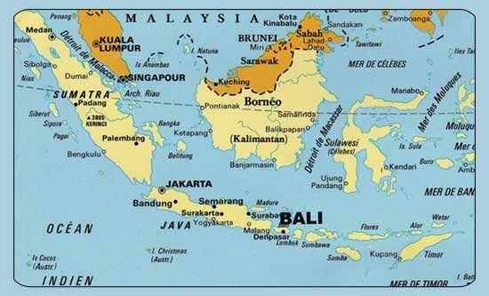 Carte Bali Mer.Breaking News Des Milliers De Touristes Bloques A Bali