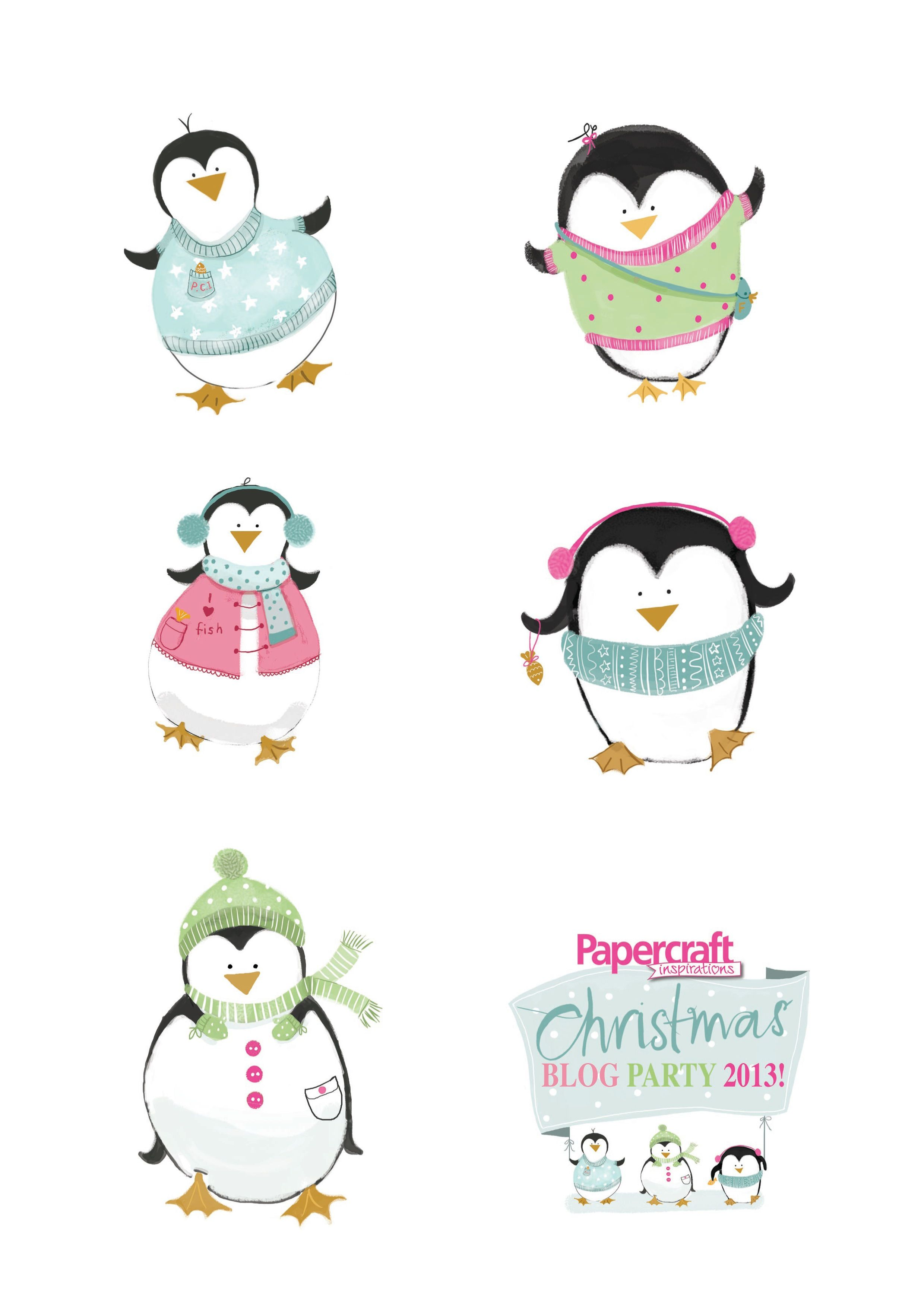 Free Penguin Printables From