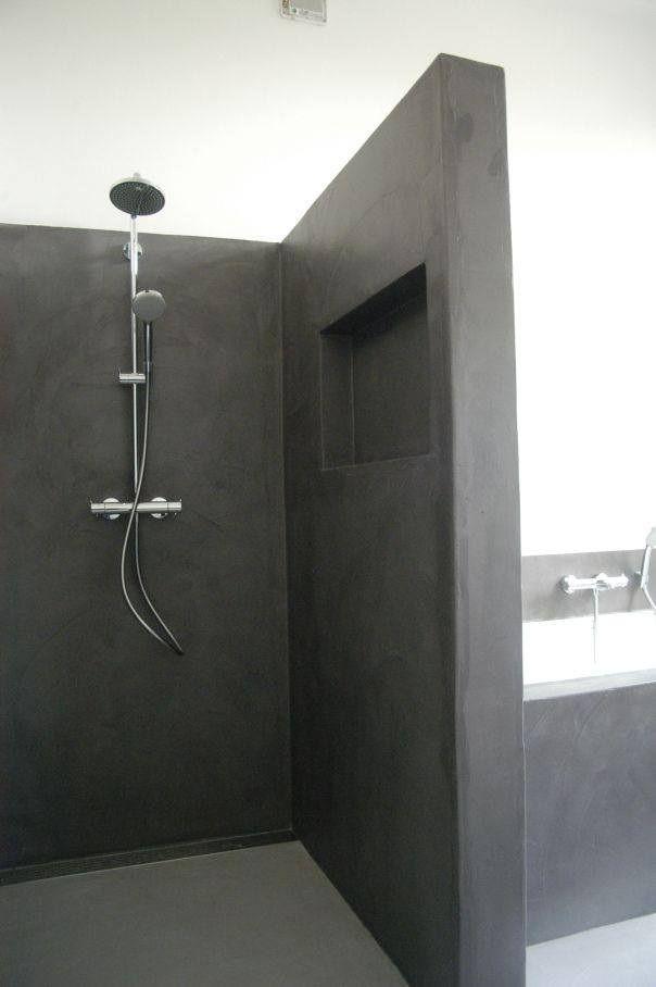Afbeeldingsresultaat voor badkamer betonlook | Badkamer | Pinterest ...