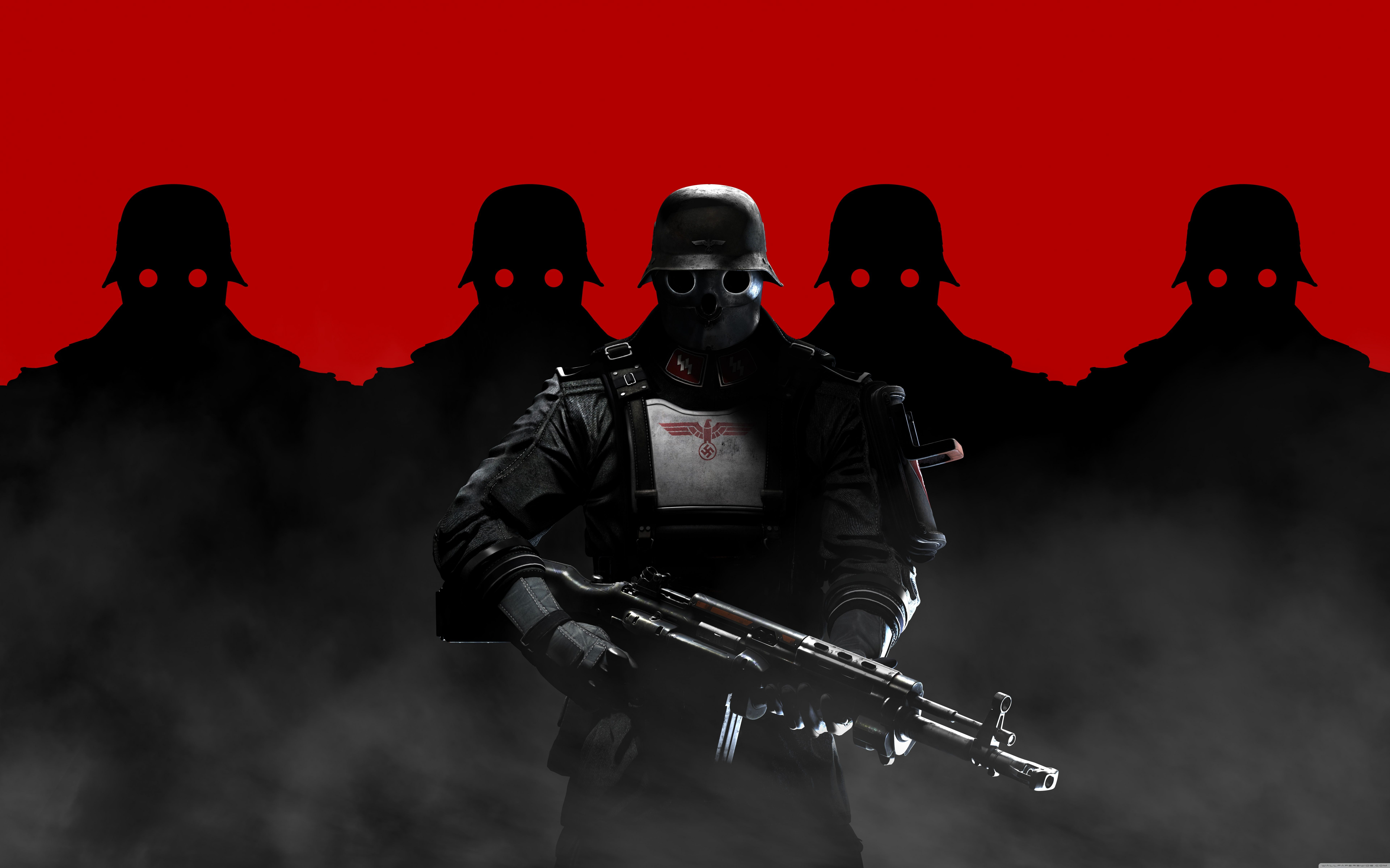 Soldiers Wallpaper Hd Resolution The New Colossus Wolfenstein Soldier Images
